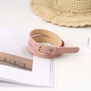 [XVSPB02602] Loving Heart PU Belt for Women (Pink)