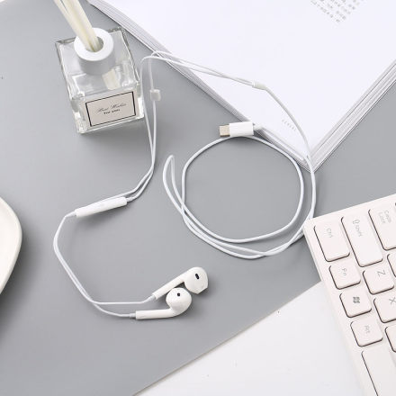 UP23 Type-C Earphones (White)