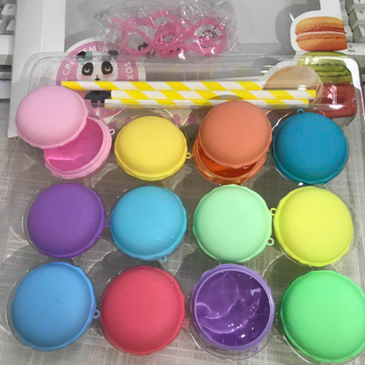 [XVTET02684] 12-Color Macaroon Modeling Clay