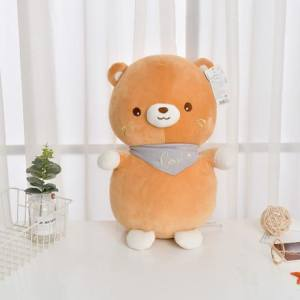 [XVTMPD02043] Bear Plush Doll(Light Brown)